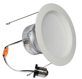 "American Lighting E-PRO 6"" DOWNLIGHT, 2700K, E26 BASE, WH TRIM, 10W, 700 LM White EP6-E26-27-WH"