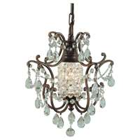 Feiss Maison De Ville 1-Light British Bronze up Mini Chandelier