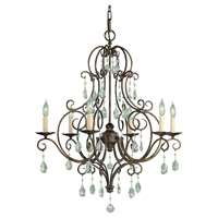 6-LT Single Tier Chandelier