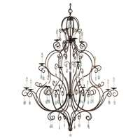 16-LT Multi-Tier Chandelier