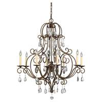8-LT Single Tier Chandelier