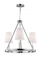Feiss Light Lismore Chandelier F292/3PN