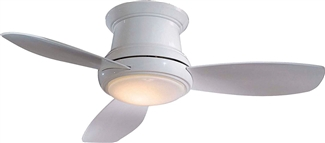"44"" LED Flush Mount Ceiling Fan"