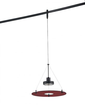 George Kovacs Sable Bronze Patina Red Acrylic 6-1W LED - GKTH1406-RD-467