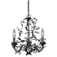 Trellis 3-LT Mini Chandelier