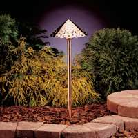 Hammered Roof 3000K Landscape LED Path Light Cooper