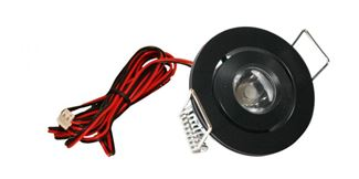 American Lighting LED Mini Swivel Series Black LMS-BK