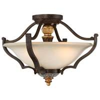 Chateau Nobles 3 Light Semi Flush