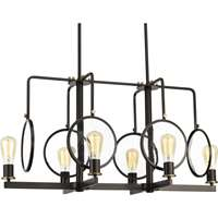 Looking Glass 6-LT Linear Chandelier