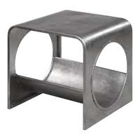 Uttermost Yeager Silver End Table