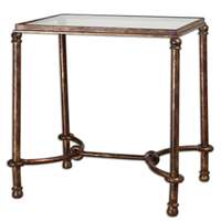 Uttermost Warring Iron End Table