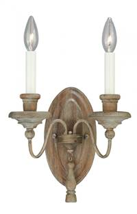 Lucca 2L Wall Light