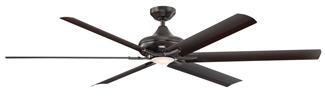"70"" Ceiling Fan with Light & Remote Control"