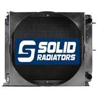 Melroe Spray Coupe Radiator 810307, 6625225