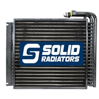 Case IH Skidsteer Hydraulic Oil Cooler 386925A1, 367985A3