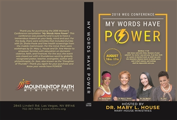 My Words Have Power 2018 Conference (CD)