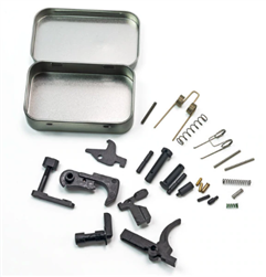 Bad Attitude Department AR15 Lower Parts Kit - No Grip or Trigger Guard