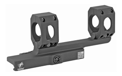 "American Defense Mfg., Mount, Picatinny, Quick Release, Fits 1"" Scope, Black, Single Titanium QD Lever"
