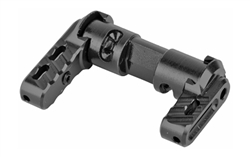Battle Arms Development, Inc., Bad-Ass Elite Ambidextrous Safety Selector, Modular Aluminum Levers With Fiber Optic Inserts, Black Finish