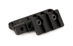 Bravo Company, BCMGUNFIGHTER 1913 Light Mount Modular KeyMod, Fits 1913 Rail, Black Finish