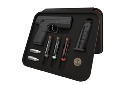 Byrna HD Max Kit - Black Non-Lethal Self Defense Weapon, 2- 5rd Mags, No Permits or Background Checks
