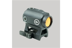 Crimson Trace Compact Tactical Red Dot Sight for Rifles with Quick Detach Mount