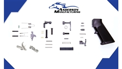 Anderson Manufacturing AR-15 Platform Lower Receiver Parts Kit w/ SS Hammer and Trigger