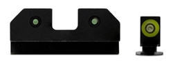 XS SIGHTS RAM Night Sights For Glock 20,21,29,30,30S,37,41- Green
