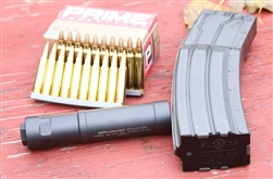 Griffin Armament Optimus MICRO (22lr suppressor rated to 5.56 and 22-250)