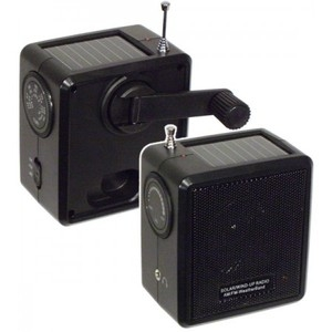 Solar Outdoor Wind Up Radio