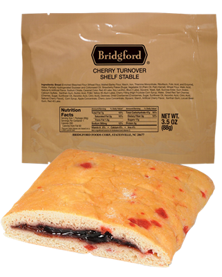 Bridgford Cherry Turnover MRE