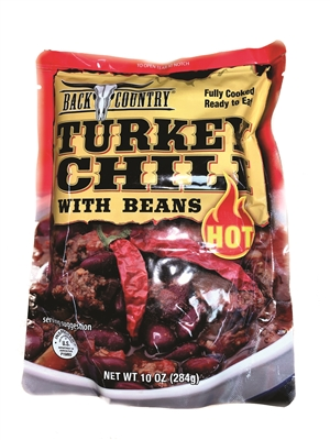 Back Country Turkey Chili with Beans Pouch