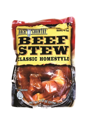Back Country Beef Stew Pouch