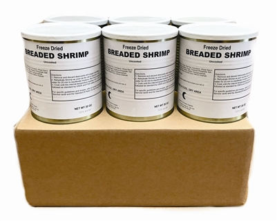 Military Surplus Breaded Shrimp