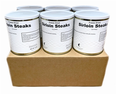 Military Surplus Freeze Dried Sirloin Steaks