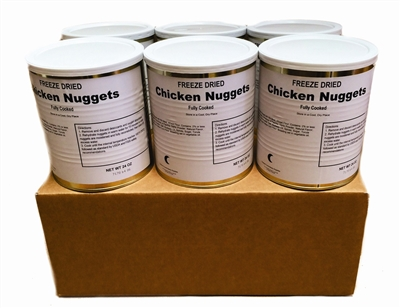 Military Surplus Chicken Nuggets