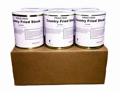Military Surplus Country Fried Steaks. Chicken Fried Steaks