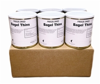 Military Surplus Freeze Dried Bagel Thins