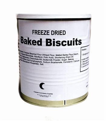 Military Surplus Freeze Dried Biscuits