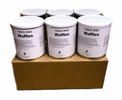 Military Surplus Freeze Dried Waffles