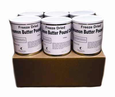 Military Surplus Freeze Dried Cinnamon Pound Cakes