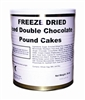 Military Surplus Freeze Dried Double Chocolate Pound Cakes