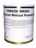 Military Surplus Freeze Dried Iced Carrot Walnut Pound Cakes