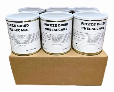 Military Surplus Freeze Dried Cheesecake