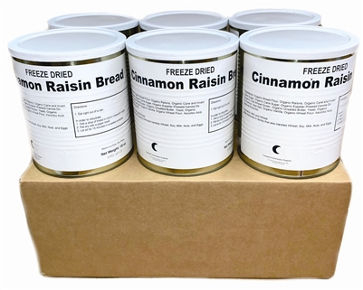 Military Surplus Freeze Dried Cinnamon Raisin Bread