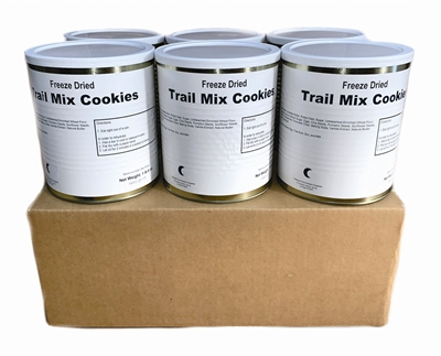 Military Surplus Freeze Dried Trail Mix Cookies