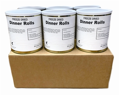 Military Surplus Freeze Dried Dinner Rolls