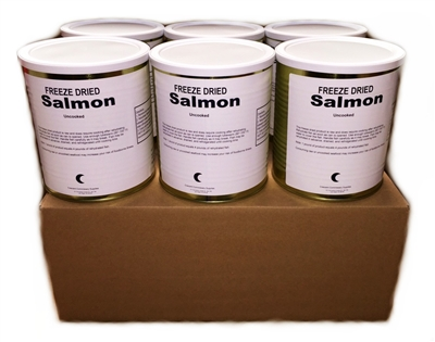 Military Surplus Freeze Dried Salmon Fillets