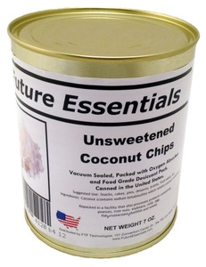 Future Essentials Unsweetened Coconut Chips