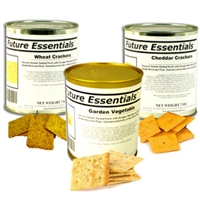 Case (12 Cans) of Future Essentials Crackers Variety